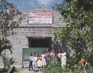 A church in which YMG Team ministered